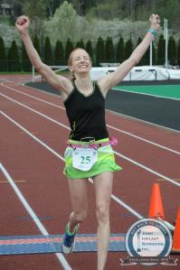 FEMALE WINNER! ATHENS MARATHON APRIL 19, 2015
